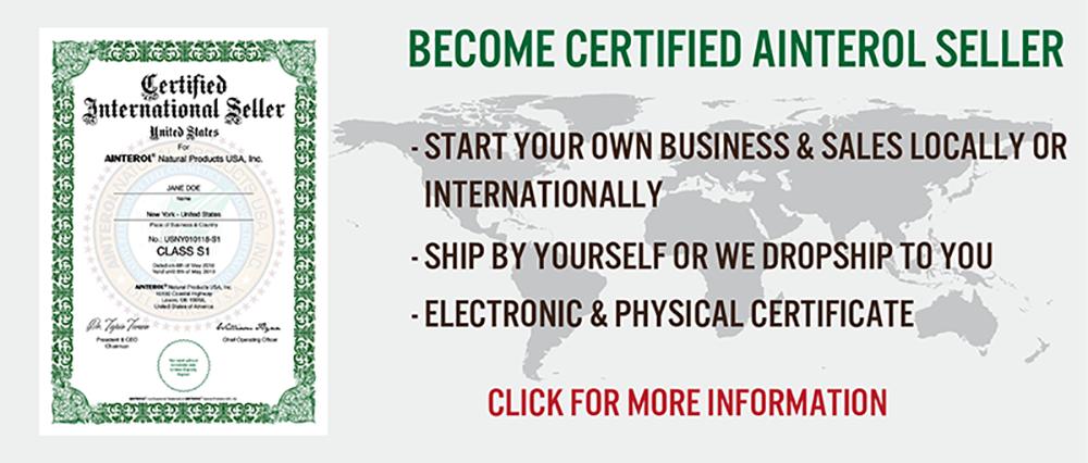 AINTEROL Certified Sellers